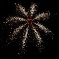 Favicon - Brennendes Herz mit Fontänenkranz - Feuerwerk kaufen im Pyrographics Feuerwerkshop