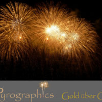Pyrographics Gold über Gold