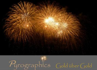 Gold über Gold Feuerwerkspaket von Pyrographics - Feuerwerk einfach online kaufen im Pyrographics Feuerwerkshop