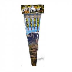 Boom Squad Raketensortiment von Lesli Firework/Feuerwerk - Feuerwerk online kaufen im Pyrographics Feuerwerkshop