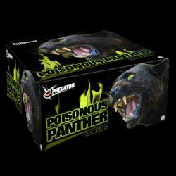 Poisonous Panther Verbundfeuerwerk (Jubiläumsedittion) von Lesli Feuerwerk/Firework - Feuerwerk online kaufen im Pyrographics Feuerwerkshop