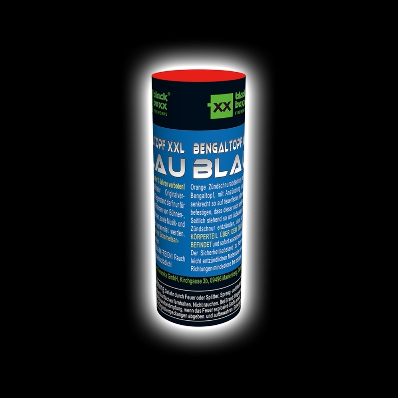 Blackboxx – Bengaltopf XXL Blau