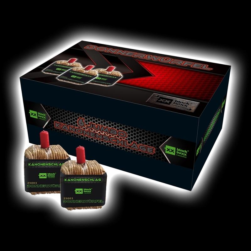Donnerwürfel von Blackboxx Feuerwerk /Firework- Feuerwerk online kaufen im Pyrographics Feuerwerkshop