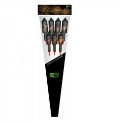 Blackboxx Raketen Goldjungs Feuerwerk einfach online kaufen im Pyrographics Feuerwerkshop