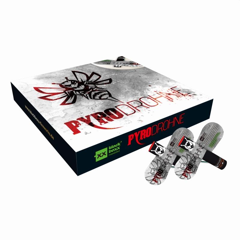 Blackboxx – Pyrodrohne (4er Schachtel)
