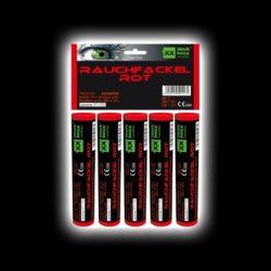 5er Pack Rauchfackeln Rot von Blackboxx Feuerwerk /Firework- Feuerwerk online kaufen im Pyrographics Feuerwerkshop