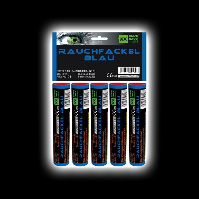 Blackboxx – Rauchfackeln 5er Pack Blau