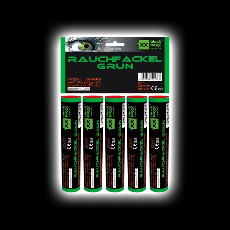 Blackboxx – Rauchfackeln 5er Pack Grün
