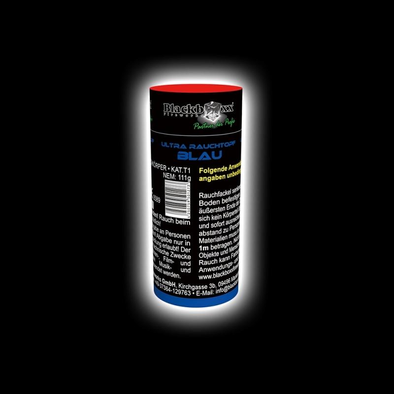 Blackboxx – Ultra Rauchtopf Blau