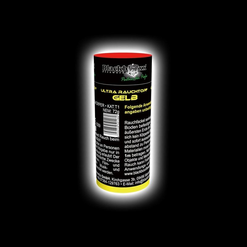 Blackboxx – Ultra Rauchtopf Gelb