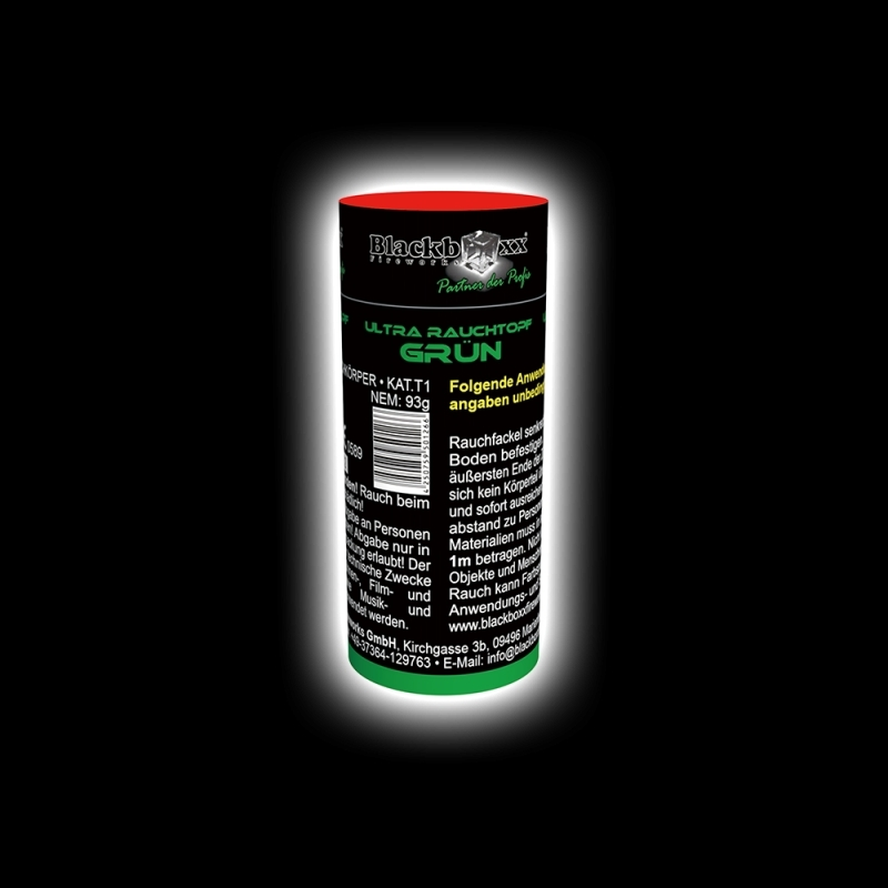 Blackboxx – Ultra Rauchtopf Grün