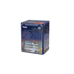 Gold Blue Variations von Funke Feuerwerk /Firework/Fajerwerkji- Feuerwerk online kaufen im Pyrographics Feuerwerkshop