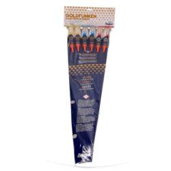 Goldfunken Raketensortiment von Funke Feuerwerk /Firework/Fajerwerkji- Feuerwerk online kaufen im Pyrographics Feuerwerkshop