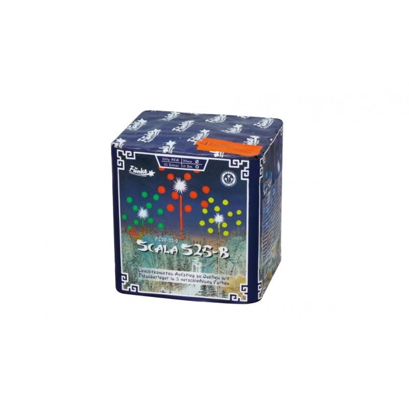 Scala S25-B von Funke Feuerwerk /Firework/Fajerwerkji- Feuerwerk online kaufen im Pyrographics Feuerwerkshop