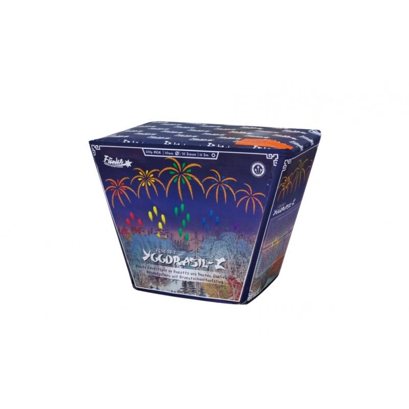 Ygdrasil-Z von Funke Feuerwerk /Firework/Fajerwerkji- Feuerwerk online kaufen im Pyrographics Feuerwerkshop