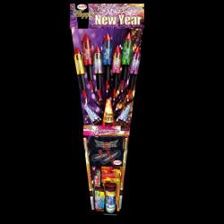 Happy New Year von Keller Feuerwerk - Feuerwerk online kaufen im Pyrographics Feuerwerkshop