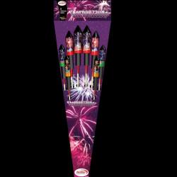 Sternenzauber Raketensortiment von Keller Feuerwerk - Feuerwerk online kaufen im Pyrographics Feuerwerkshop