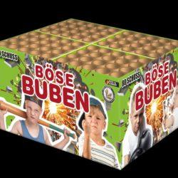 Böse Buben Verbundfeuerwerk von Lesli Feuerwerk/Firework - Feuerwerk online kaufen im Pyrographics Feuerwerkshop