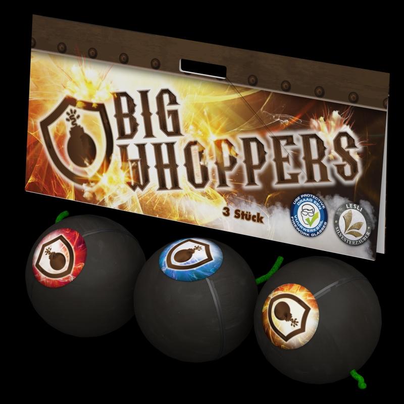 Big Whoopers von Lesli Feuerwerk/Firework - Feuerwerk online kaufen im Pyrographics Feuerwerkshop