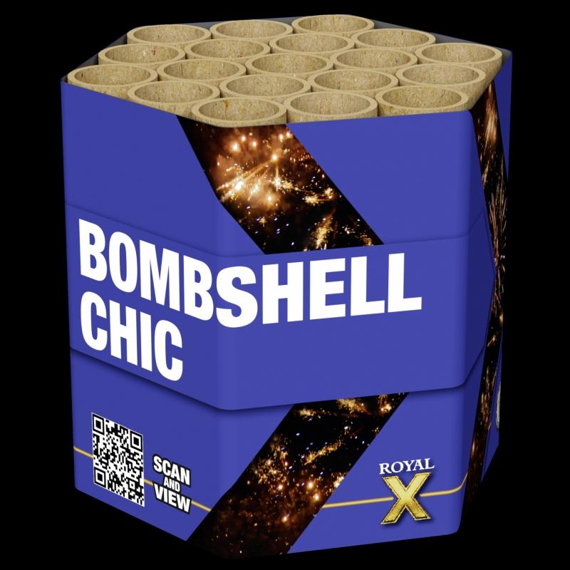 Bombshell Chic von Lesli Feuerwerk/Firework - Feuerwerk online kaufen im Pyrographics Feuerwerkshop