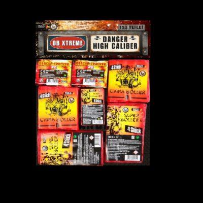 Lesli Knallsortiment DB-Extreme online kaufen im Pyrographics Feuerwerk Onlineshop