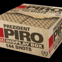 Prezident Piro Verbundfeuerwerk von Lesli Feuerwerk/Firework - Feuerwerk online kaufen im Pyrographics Feuerwerkshop