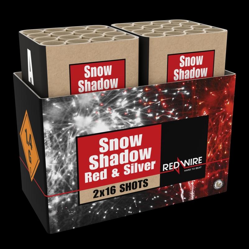 Snow Shadow Verbundfeuerwerk von Lesli Feuerwerk/Firework - Feuerwerk online kaufen im Pyrographics Feuerwerkshop