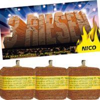 Nico – Kubische Kanonenschläge 3er Pack