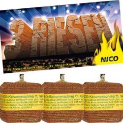 Kubische Kanonenschläge von Nico Feuerwerk- Feuerwerk online kaufen im Pyrographics Feuerwerkshop