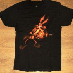 Feuerwerk T-Shirt Coyote von Loonley Tones Vorderseite -Merchandise & Feuerwerk einfach online kaufen im Pyrographics Feuerwerkshop