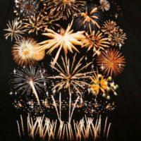 """Pyro Noveltis – Feuerwerk T-Shirt """"Firework Display Größe 2XL"""