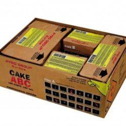 Cake ABC Verbundfeuerwerk von Pyrotrade/PGE - Feuerwerk online kaufen im Pyrographics Feuerwerkshop