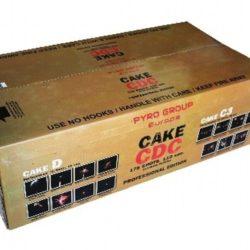 Cake CDC Verbundfeuerwerk von Pyrotrade/PGE - Feuerwerk online kaufen im Pyrographics Feuerwerkshop