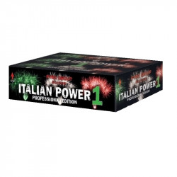 PGE/Pyrotrade Verbundfeuerwerk Italian Power 1 - Feuerwerk einfach online kaufen im Pyrographics Feuerwerkshop