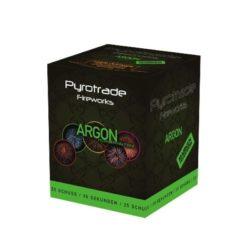 Argon von Pyrotrade/PGE - Feuerwerk einfach online kaufen im Pyrographics Feuerwerkshop