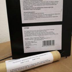 Multiflash Blinkbengal von Weco Feuerwerk - Feuerwerk online kaufen im Pyrographics Feuerwerkshop