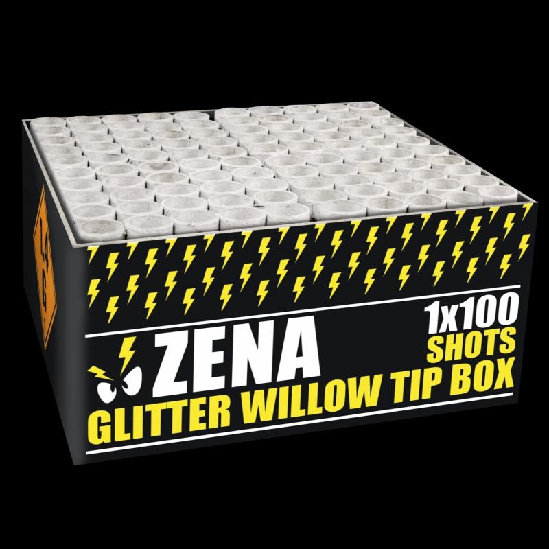 Zena – Glitter Willow Tip Box