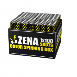 Zena Color Spinning Box Neuheit 2020 online bestellen by Pyrographics Feuerwerkan 365 Tage im Jahr
