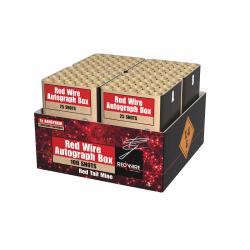 Red Wire Autograph Box von Lesli Sonderedition online bestellen by Pyrographics Feuerwerkan 365 Tage im Jahr