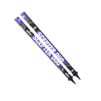 Scepter Duo Bombenrohre von Lesli online kaufen by Pyrographics Feuerwerk, deutschlands Feuerwerkshop Nr.1