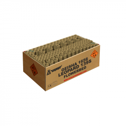 Geisha Leopard online einkaufen an 365 Tage im Jahr Pyrographics Feuerwerk
