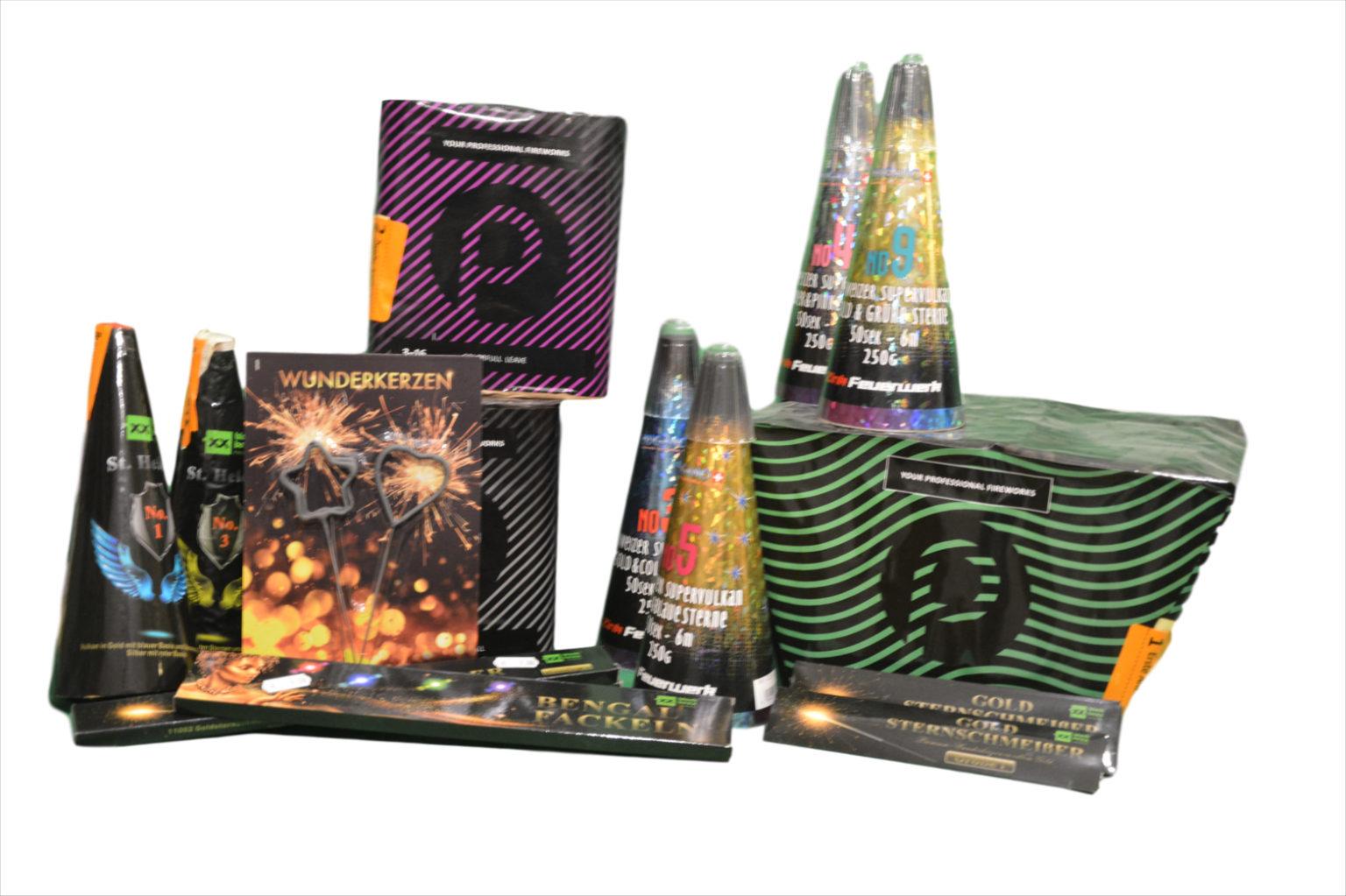 Pyrographics Feuerwerk - es muss nicht immer laut sein - auch stilles Feuerwerk ist schön