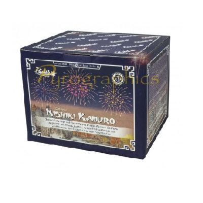 Nishiki Kamuro Verbundfeuerwerk von Funke - Feuerwerk online kaufen im Pyrographics Feuerwerkshop