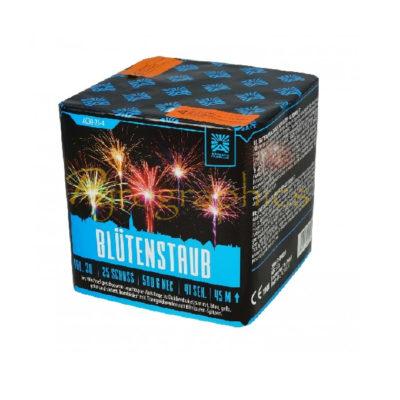 Blütenstaub von Argento Gefächerte Feuerwerksbatterie - Feuerwerk online kaufen im Pyrographics Feuerwerkshop