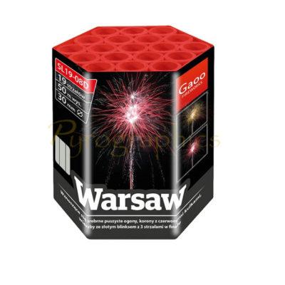 Gaoo Warsaw Feuerwerksbatterie in unserem 365 Tage Feuerwerkshop online kaufen