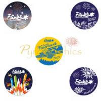 Funke – Sticker mit unterschiedlichen Motiven