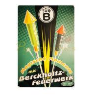 JGWB – Retro-Feuerwerksposter
